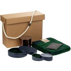 Набор Very Marque Home Resort: полотенца, шкатулка, набор подсвечников, свеча, саше, малый, зеленый фото