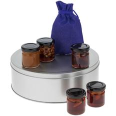 Набор Honey Taster: мёд и чай, коричневый / синий фото