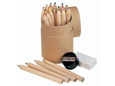 Набор для рисования Художник: 24 цветных карандаша, ластик, точилка, крафт фото