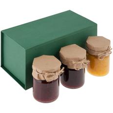 Набор варенья Jam Jar, 3 вкуса, зеленый фото