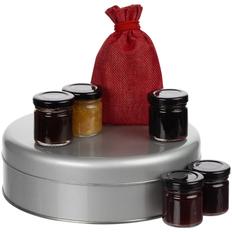 Набор Jammy Taster: варенье и чай, коричневый / красный фото