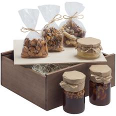 Набор Kernel Ver.2: мед 2 шт., крем-мед, ореховая смесь, орехи, коричневый фото