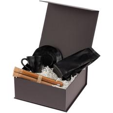 Набор кофейный Delish: кофейная пара, набор специй, кофе, черный фото
