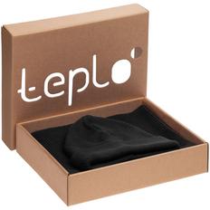 Набор teplo Life Explorer: шапка, шарф, черный фото