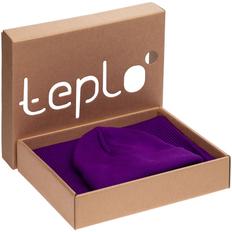 Набор teplo Life Explorer: шапка, шарф, фиолетовый фото