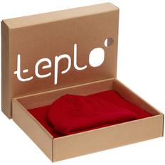Набор teplo Life Explorer: шапка, шарф, красный фото