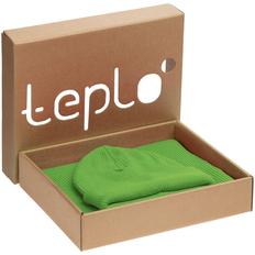 Набор teplo Life Explorer: шапка, шарф, зеленый фото