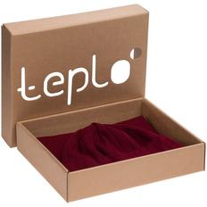 Набор teplo Lima: шапка, шарф, бордовый фото