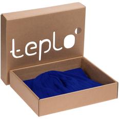 Набор teplo Lima: шапка, шарф, синий фото
