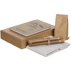 Набор «Магия кофе»: фартук Holland, кофе в зернах, книга, специи для кофе Spicy Stick, коричневый фото