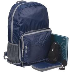 Набор «Открывая Россию»: рюкзак-трансформер Torren, органайзер для путешествий Torren, беспроводная колонка Repeat с аккумулятором 4000 mAh, ежедневник «Открывая Россию», компас Course, синий фото