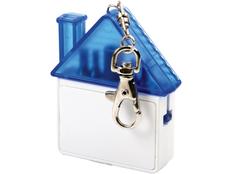 Набор отверток в виде брелока-домика, белый/ синий фото