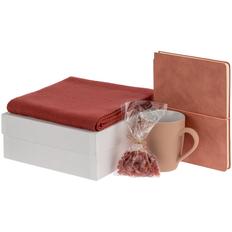Набор Pastels: шарф Glenn, ежедневник Flex Shall, кружка Promo, специи для глинтвейна Autumn Joy, красный фото