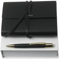 Набор Nina Ricci Pensee: блокнот А6 и ручка, черный фото