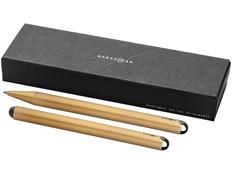 Набор ручек Marksman Radar: ручка шариковая металлическая, ручка стилус, золотой фото