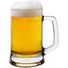 Набор пивных кружек Bottoms Up, 2 шт., 300 мл, прозрачные фото