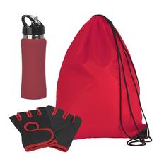 Набор подарочный Атлет, размер XL, красный фото