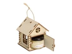 Набор подарочный Eat & Bite «Крем-мед в домике», ваниль фото