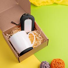 Набор подарочный Mattisse`Teas: кружка, зарядное устройство, чёрный фото
