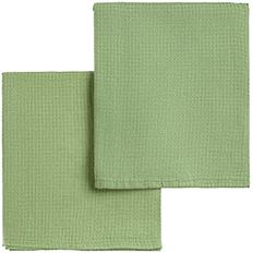 Набор полотенец Fine Line, зеленый фото