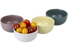 Набор порционных горшочков York, разноцветный фото
