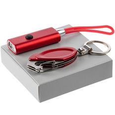 Набор Primer: мультитул Hook, фонарик ThisWay Midi, красный фото