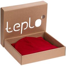 Набор teplo Real Talk: шапка, шарф, красный фото