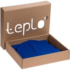 Набор teplo Real Talk: шапка, шарф, синий фото