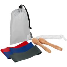 Набор спортивный Skipping Fit Minimal: скакалка, эластичные ленты фото