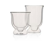 Набор стаканов из двойного стекла 300 мл Thermos, прозрачный фото