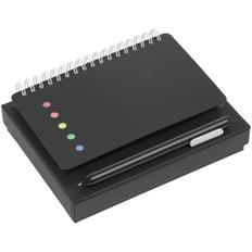 Набор Stick: блокнот Stick, ручка шариковая Slider, черный фото