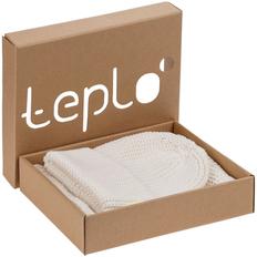 Набор Teplo Nordkyn: шапка, снуд, молочно-белый фото