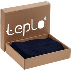 Набор Teplo Nordkyn: шапка, снуд, синий фото
