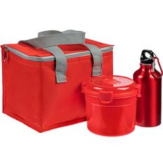 Набор Tomato Pack: сумка холодильник Vardo, бутылка для спорта Re-Source, ланчбокс Barrel Roll, красный фото