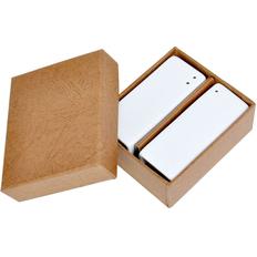 Набор Towers:солонка и перечница в подарочной упаковке, белый фото