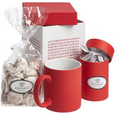 Набор Wishmaker: кружка Sippy, меренги Baiser, шоколадные дропсы Melt It, красный фото