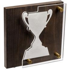 Награда Celebration, кубок, коричневый/серебристый фото