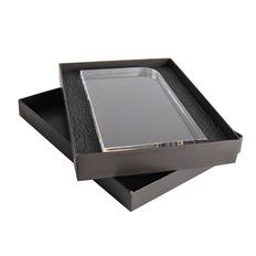 Награда из акрила Status в подарочной коробке, прозрачная фото