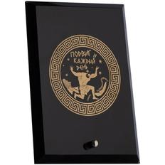 Награда «Подвиг каждый день», черная / золотая фото