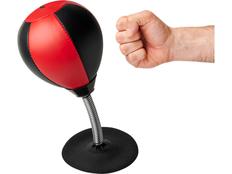 Настольная боксерская груша Avenue Alcina, чёрная/красная фото