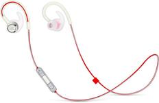 Наушники беспроводные внутриканальные для бега, Bluetooth JBL Reflect Contour 2, белые фото