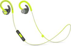 Наушники беспроводные внутриканальные для бега, Bluetooth JBL Reflect Contour 2, зелёные фото