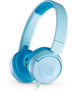Наушники проводные накладные складные детские JBL JR300, синие фото