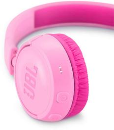 Наушники накладные Bluetooth JBL JR300 BT, 1.2м, розовые фото