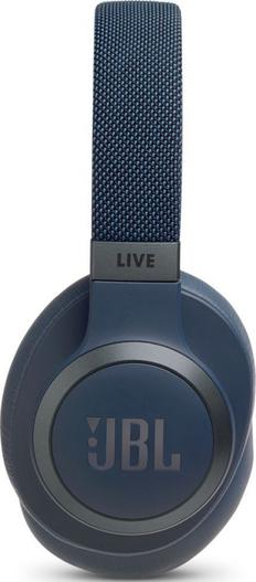 Наушники беспроводные накладные складные JBL Live 650BTNC, 700 mAh, синие фото
