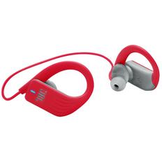 Наушники беспроводные внутриканальные для бега, JBL Sprint, серый/ красные фото