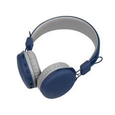 Наушники беспроводные накладные Rombica Mysound BH 03, синие фото