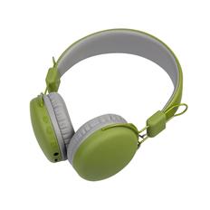 Наушники беспроводные накладные Rombica Mysound BH 03, зеленые фото