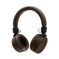 Наушники беспроводные накладные Rombica Mysound BH 11, коричневые фото