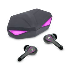 Наушники беспроводные в зарядном кейсе Accesstyle Wild TWS, фиолетовые фото